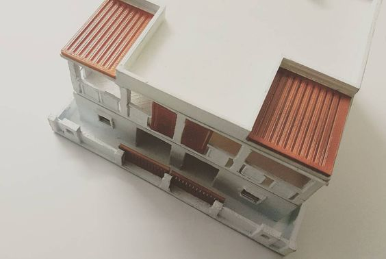 House model! #protovalley #3Dprinting #first #3dmodel #architecture #building by protovalley