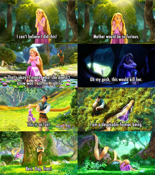 Tangled - Best Scene Ever. :P