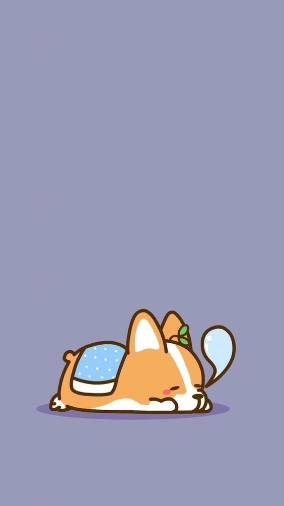 Welcome 2018 With Cute Pictures The Dog Was Taken To Make Wallpaper To Decorate Your Mobile Screen Dog Wallpaper Iphone Cute Dog Wallpaper Corgi Wallpaper