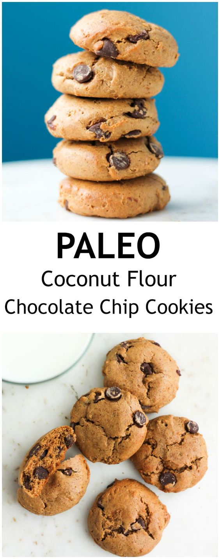 Paleo Coconut Flour Chocolate Chip Cookies | Recipe ...