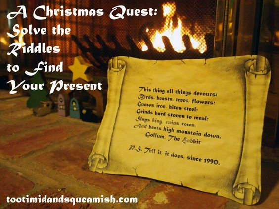 A Christmas Quest: Solve The Riddles To Find Your Present