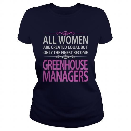 Greenhouse Managers T Shirts, Hoodies, Sweatshirts. CHECK PRICE ==► https://www.sunfrog.com/Jobs/Greenhouse-Managers-Navy-Blue-Ladies.html?41382