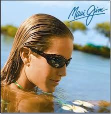 Gafas de sol polarizadas Maui-Jim, con antireflejante por la cara interna. Menor deslumbramiento, mejor contraste.