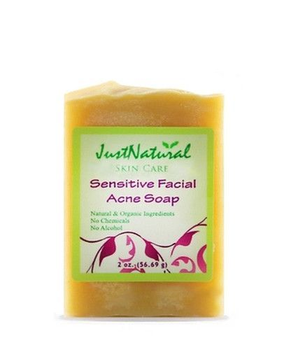 Any more facial soap for acne touching