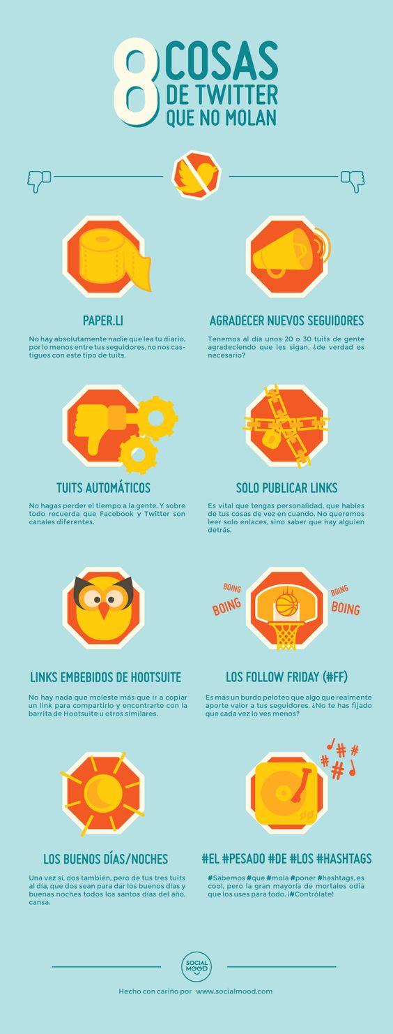 8 cosas de Twitter que no molan, no estoy de acuerdo con algunos, sobre todo paper.li ;-)