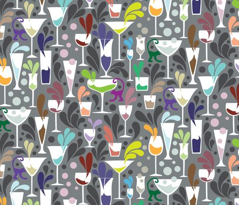 Just a Splash fabric on Spoonflower - custom fabric hundreds of fabric patterns or you can create your own design!