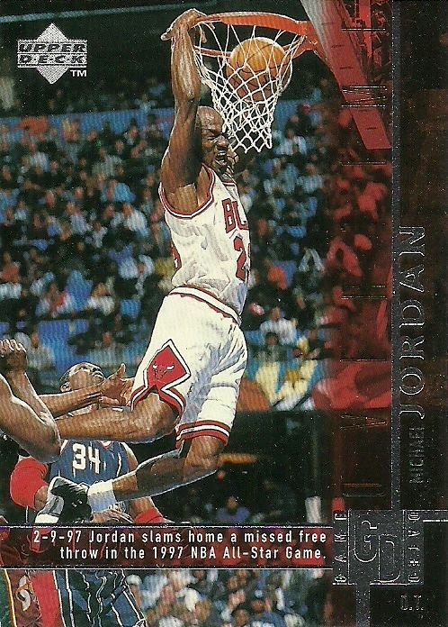 1998-99 UPPER DECK GAME DATED #316 MICHAEL JORDAN BULLS 50 CENT SHIPPING…