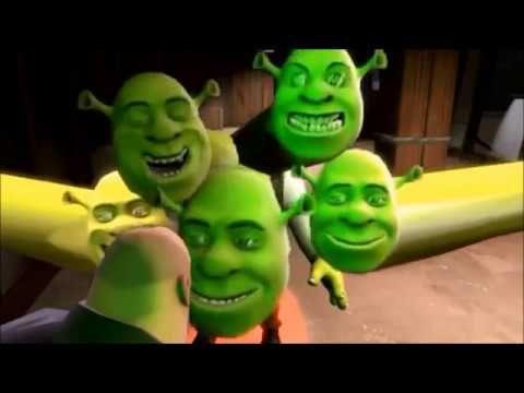 The Ultimate Shrek Compilation 2013 2016 Part 2 5 Youtube Shrek Mario Characters Disney Characters