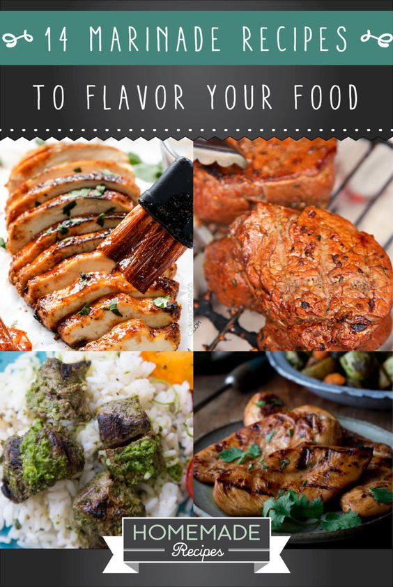 14 Marinade Recipes To Give Your Food Fantastic Flavors | http://homemaderecipes.com/14-fantastic-marinade-recipes/