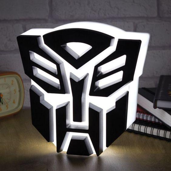 Transformers USB Lampe - Autobot via: monsterzeug.de