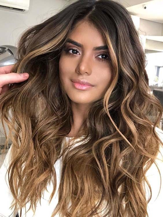 40 Stunning Balayage Hair Colors Highlights For 2018 Styleschannel Balayage Hair Hair Color For Morena Hair Color Highlights