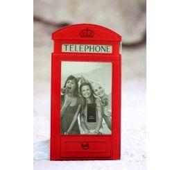 Porta-Retrato - Cabine Telefônica de Londres
