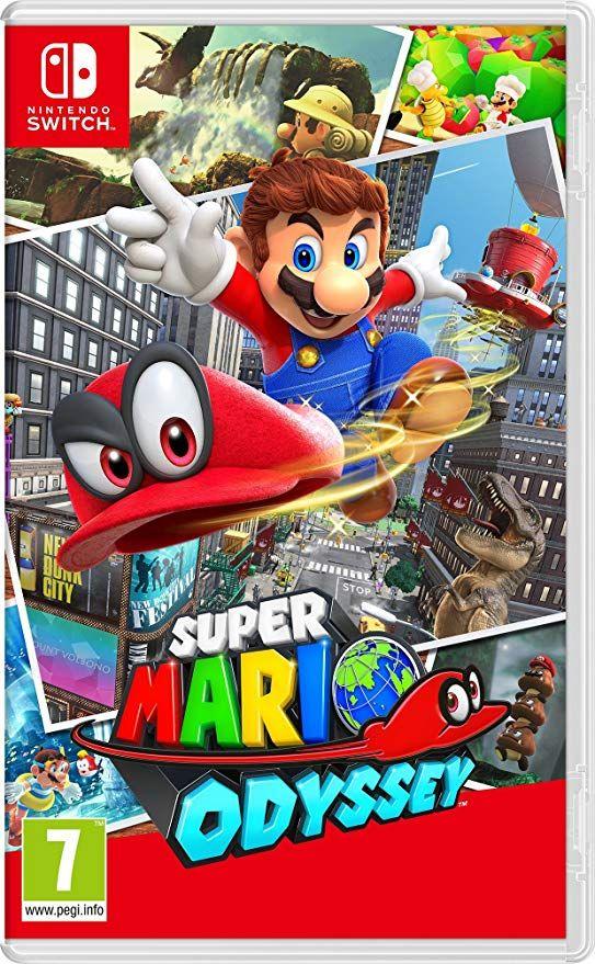 Super Mario Odyssey Nintendo Nintendo Switch Mario