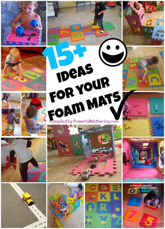 15 Plus Ideas For Your Puzzle Abc Or Number Foam Mat You