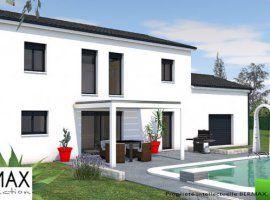 Façade maison 3D baies vitrées 2 étages   Nova kuća   Pinterest ...