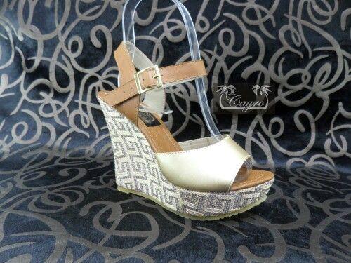 Sandalias altas dama