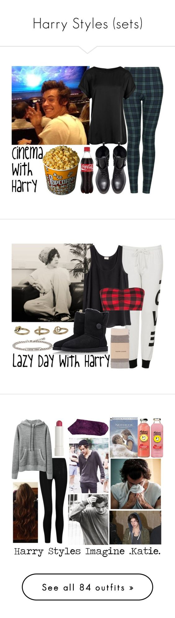 """""""Harry Styles (sets)"""" by once-upon-a-star ❤ liked on Polyvore featuring Topshop, Reiss, Zara, OneDirection, harrystyles, Harry, onedirectionoutfits, H&M, Tsumori Chisato and UGG Australia"""