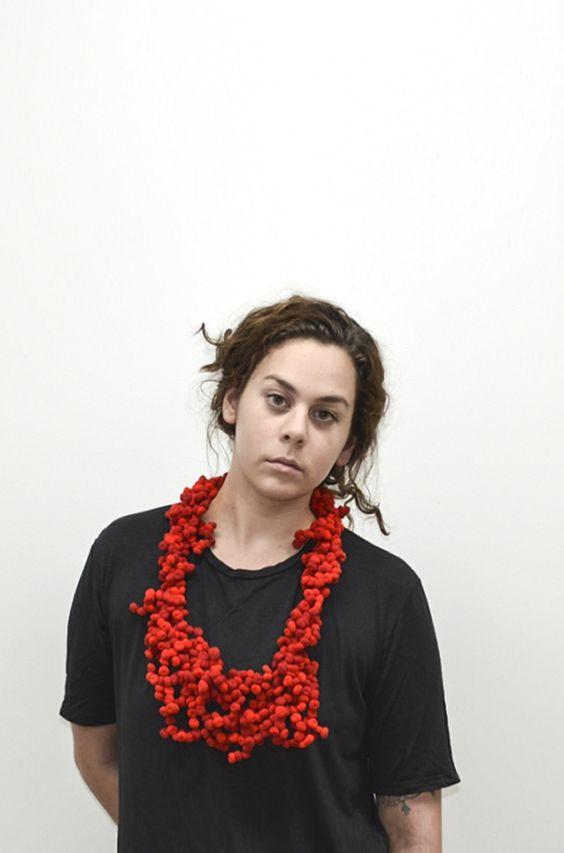 Collier Annie Loiseau - LE LABO 2016