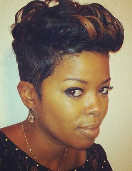Strange Short Hairstyles Hairstyles For Black Women And Hairstyles On Hairstyles For Women Draintrainus