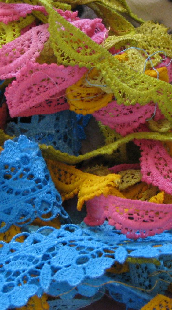 hand dyed trims
