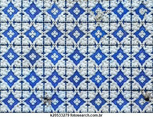 azulejos, tradicional, português,