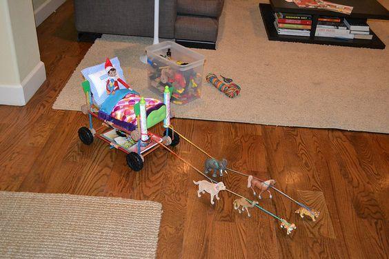 Elf Chariot by rubyandmyrtle, via Flickr