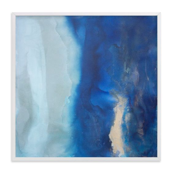 """""""Ebbing Tide"""" - Limited Edition Art Print by Julia Contacessi in beautiful frame…"""