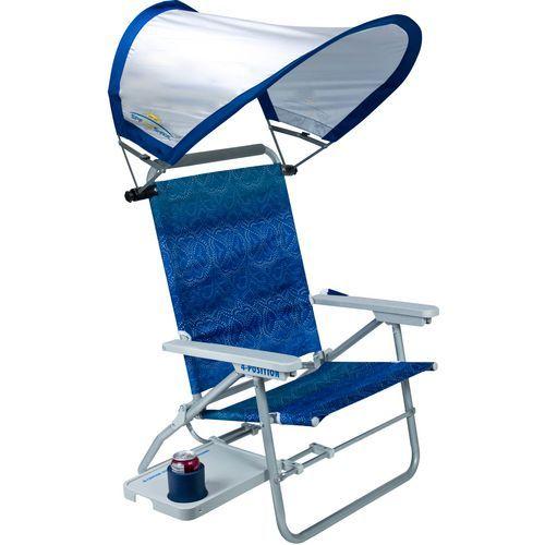Gci Outdoor Waterside Big Surf Chair With Sunshade View Number 1 Sillas De Playa Disenos De Unas Diseno De Muebles