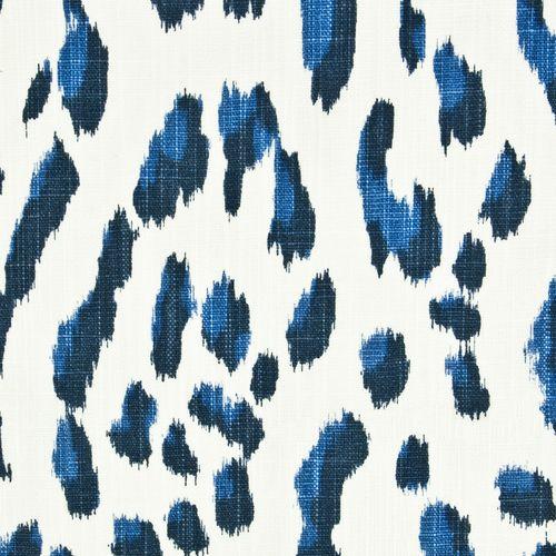 Blue Leopard Print Fabric Rainbow Library Stout Fabrics Printing On Fabric