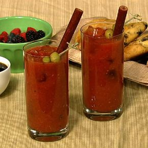 Clinton's Bloody Mary.: Yummy Drinks, Alcohol Drinks, Clinton Kellys, Beverages Cocktails, Alcoholic Drinks, Bloody Mary Recipes, Food Drink, Chew Recipe, Alcoholic Beverages