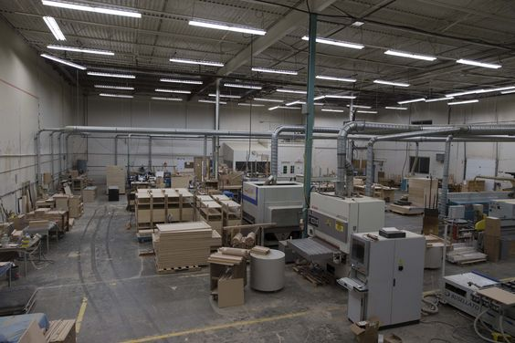 Furniture Manufacturing Plant Of Hospitality Designs In Richmond BC Canada