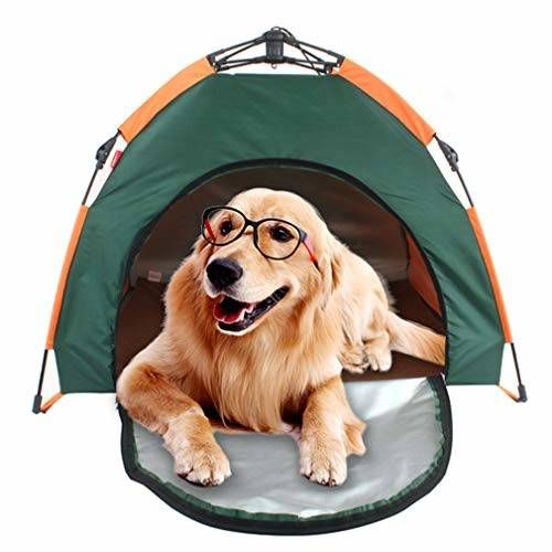 Justfky Dog Bed Tent Outdoor Camping Pet House Folding Portable Waterproof Sunscreen Shelter For Animals All4hiking Com Dog Tent Pet Kennels Pet Camping
