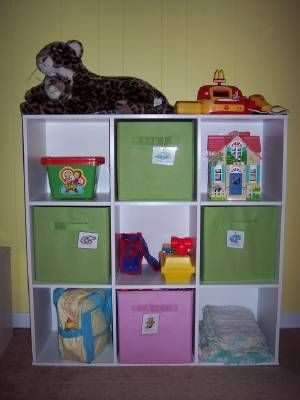 Organizing toys with cubbies : I'm an Organizing Junkie.