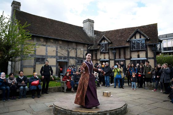 Shakespeare celebrations around the UK - in pictures
