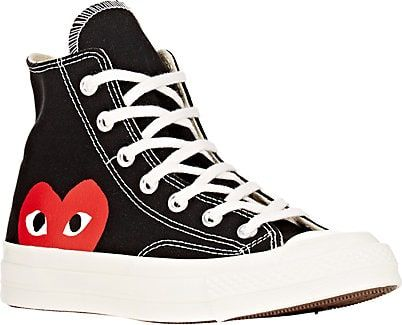 Comme des Garçons PLAY Women's Chuck Taylor 1970s High-Top Sneakers - Sneakers - VDAY Wishlist soyvirgo.com