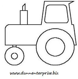 My little guy is always asking me to draw him tractors for Tractor template to print