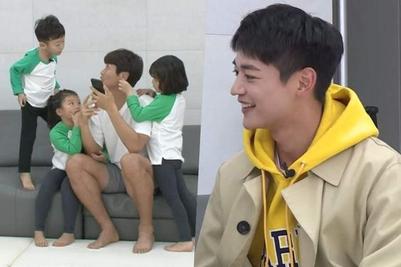 "SHINee's Minho Gives Acting Lessons To Si An, Soo Ah, And Seol Ah On ""The Return Of Superman"""