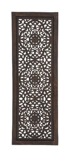 """Deco 79 34125 Wood Wall Panel, 16 by 48"""""""