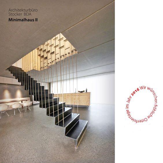 Minimal House II - Minimalhaus II - Architekturbüro Stocker Remshalden #architecture #minimalsm