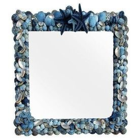 Beach Style Wall Mirrors by Chairish