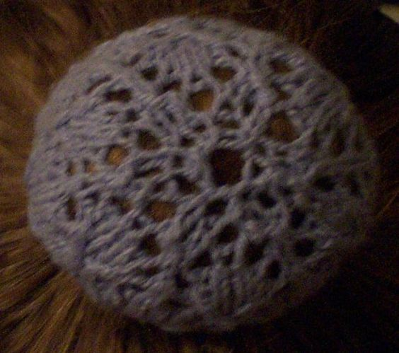 Hair Snood Knitting Pattern : Snowflakes, Hairstyles and Buns on Pinterest