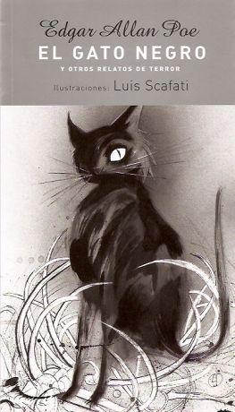 El gato negro edgar allan poe gatos pinterest - El gato negro decoracion ...