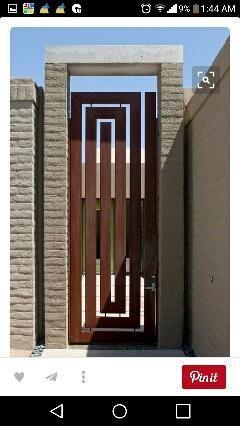 Productos De Forja Casera A Medidas De Segunda Mano Por 2 En San Juan Del Puerto En Wallapop Rejas Modernas Puertas De Madera Diseno Puertas