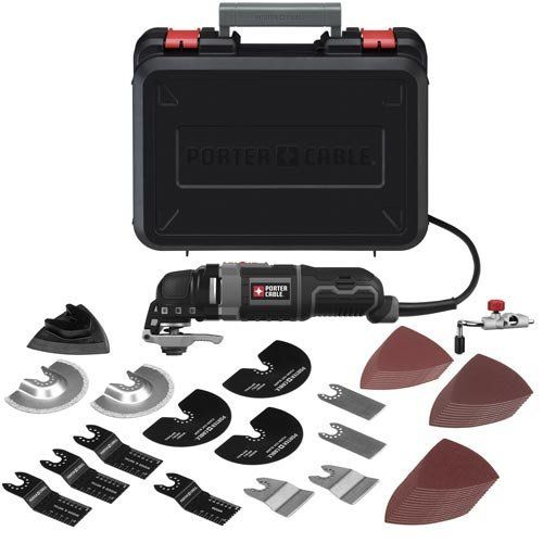 Porter Cable Pce605k52 3 Amp Oscillating Multi Tool Kit With 52 Accessories In 2020 Porter Cable Tools Porter Cable Oscillating Tool
