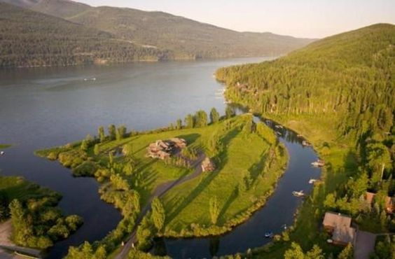 Log Home Luxury, Whitefish, Montana - In Photos: Private-Island Homes - Forbes