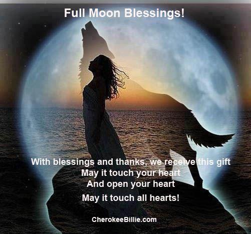 Image result for full moon blessings