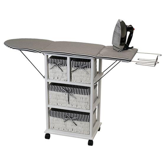 Nordic Sunrise All-in-One Ironing Board and Shelving Unit | Overstock.com Shopping - The Best Prices on Ironing Boards