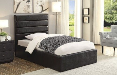 Riverbend Twin Size Platform Bed With Storage 300469t Queen Upholstered Bed Black Twin Bed Frame Beige Bed
