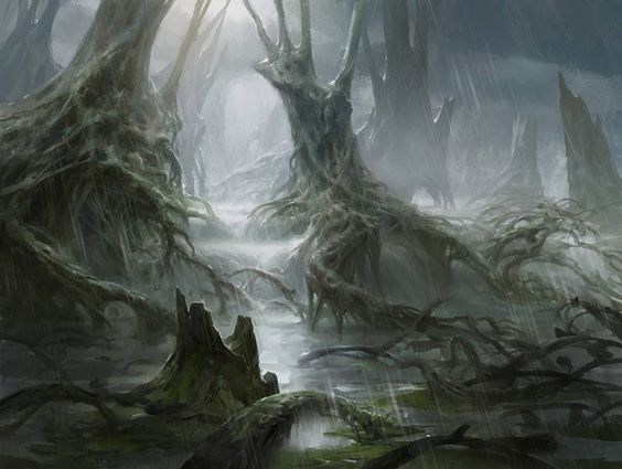 Swamp by AdamPaquette.deviantart.com on @DeviantArt