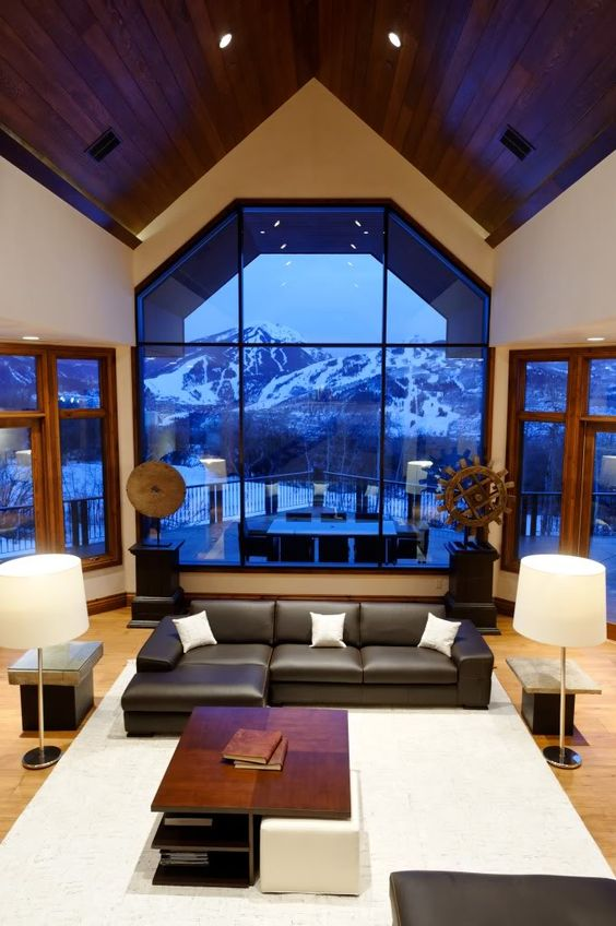 #Aspen views at the Starwood Estate, Colorado.